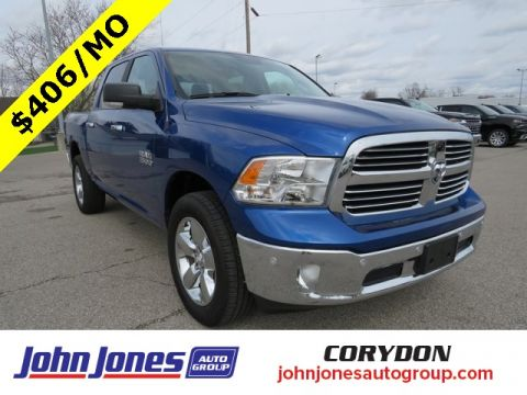 Pre-Owned 2017 Ram 1500 Big Horn 4WD 4D Crew Cab