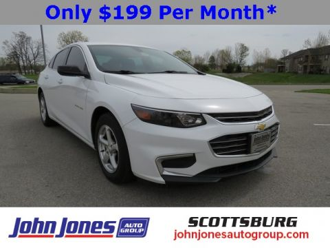 Pre-Owned 2016 Chevrolet Malibu LS FWD 4D Sedan