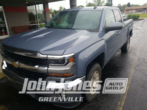 Pre-Owned 2016 Chevrolet Silverado 1500 LT 4WD 4D Double Cab