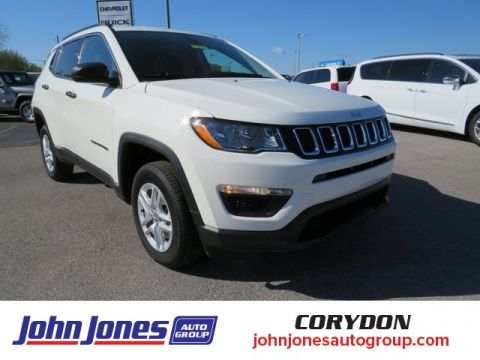 New 2020 JEEP Compass Sport 4x4 Sport Utility