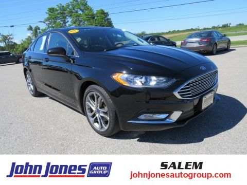 Pre-Owned 2017 Ford Fusion SE FWD 4D Sedan