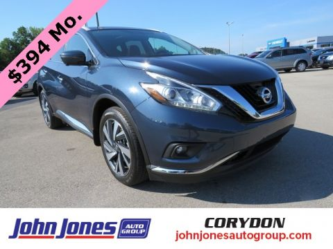 Pre-Owned 2017 Nissan Murano Platinum AWD 4D Sport Utility