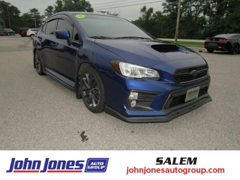 Pre-Owned 2018 Subaru WRX Premium AWD 4D Sedan